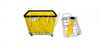 R&B Wire Products - R&B Wire 408KD 8 Bushel UPS/FEDEX-ABLE Basket Truck