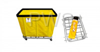 R&B Wire Products - R&B Wire 410KD 10 Bushel UPS/FEDEX-ABLE Basket Truck