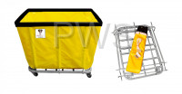 R&B Wire Products - R&B Wire 416KD 16 Bushel UPS/FEDEX-ABLE Basket Truck