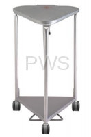 R&B Wire Products - R&B Wire 669 Deluxe Triangular Hamper w/Lid Damping Function