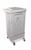R&B Wire Products - R&B Wire 693 3 Bushel Poly Laundry Hamper