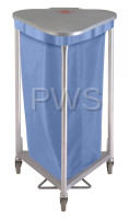 R&B Wire Products - R&B Wire 669/NY Triangular Nylon Hamper Bag for 669 Series