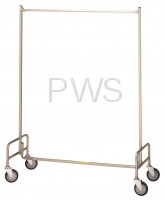 "R&B Wire Products - R&B Wire 704 48"" Single Garment Rack"
