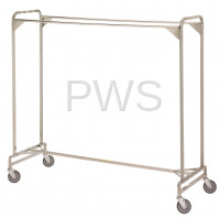 "R&B Wire Products - R&B Wire 722 72"" Double Garment Rack"