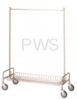 R&B Wire Products - R&B Wire 782 Basket Shelf for 704 Garment Rack