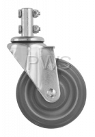 R&B Wire Products - R&B Wire 4'' Mega-Caster, Gray