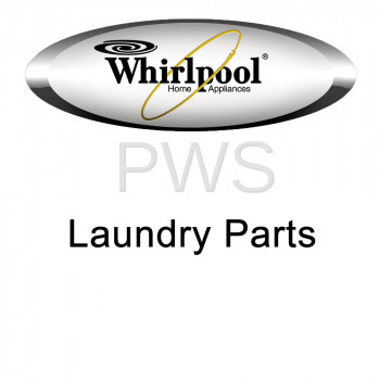 Whirlpool Parts - Whirlpool #W10068780 Washer Trim Ring, Teardrop Assembly (White)