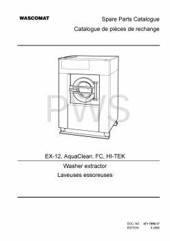 Wascomat Parts - Diagrams, Parts and Manuals for Wascomat AquaClean Washer