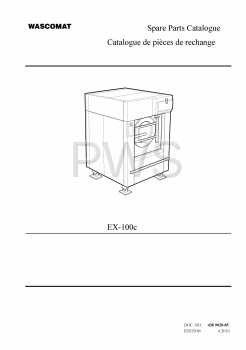 Wascomat Parts - Diagrams, Parts and Manuals for Wascomat EX-100c Washer