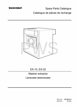 Wascomat Parts - Diagrams, Parts and Manuals for Wascomat EX-25 Washer