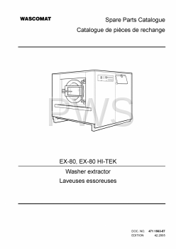 Wascomat Parts - Diagrams, Parts and Manuals for Wascomat EX-80 HI-TEK Washer
