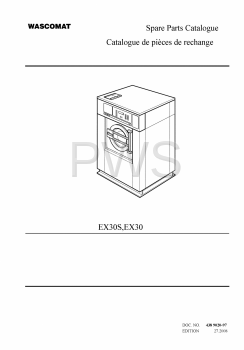 Wascomat Parts - Diagrams, Parts and Manuals for Wascomat EX30 Washer