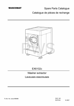 Wascomat Parts - Diagrams, Parts and Manuals for Wascomat EX6102c Washer