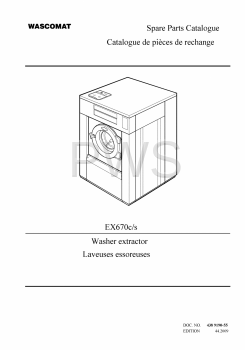 Wascomat Parts - Diagrams, Parts and Manuals for Wascomat EX670c/s Washer