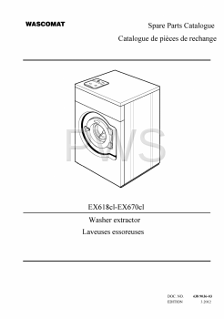 Wascomat Parts - Diagrams, Parts and Manuals for Wascomat EX670cl Washer