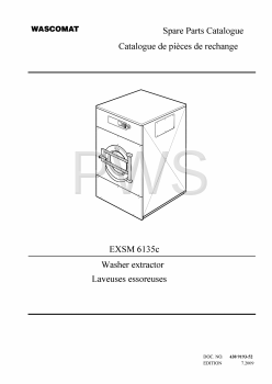 Wascomat Parts - Diagrams, Parts and Manuals for Wascomat EXSM 6135c Washer