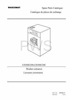Wascomat Parts - Diagrams, Parts and Manuals for Wascomat EXSM230S Washer