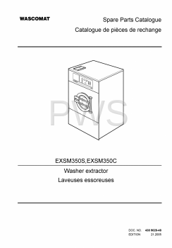 Wascomat Parts - Diagrams, Parts and Manuals for Wascomat EXSM350S Washer