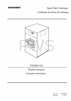 Wascomat Parts - Diagrams, Parts and Manuals for Wascomat EXSM6135cl Washer