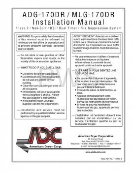 American Dryer Parts - Diagrams, Parts and Manuals for American Dryer ADG-170DR Dryer