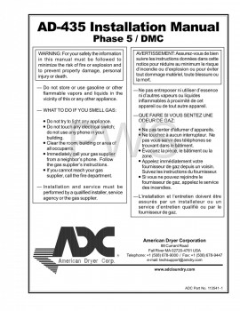 American Dryer Parts - Diagrams, Parts and Manuals for American Dryer AD-435 Dryer