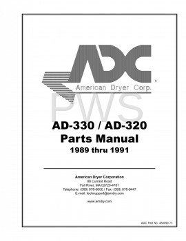 American Dryer Parts - Diagrams, Parts and Manuals for American Dryer AD-320 Dryer