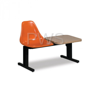 Sol-O-Matic - Sol-O-Matic ABS-2T Modular Seating Unit with Table Tops
