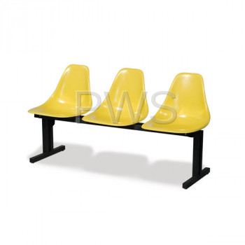 Sol-O-Matic - Sol-O-Matic ABS-3 Modular Seating Unit without Table Tops