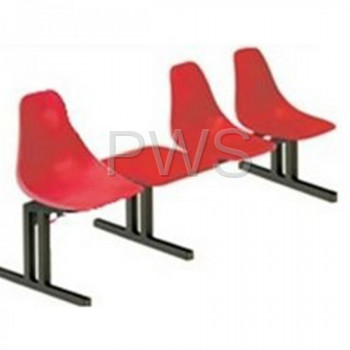 Sol-O-Matic - Sol-O-Matic ABS-4T Modular Seating Unit with Table Tops