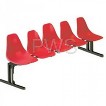 Sol-O-Matic - Sol-O-Matic ABS-5 Modular Seating Unit without Table Tops