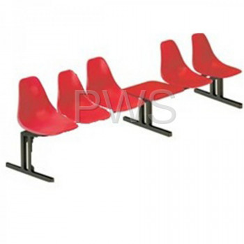 Sol-O-Matic - Sol-O-Matic ABS-6TT Modular Seating Unit with Table Tops