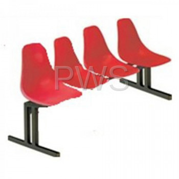 Sol-O-Matic - Sol-O-Matic CMD-4 Fiberglass Modular Seating w/o Tables
