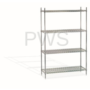 Sol-O-Matic - Sol-O-Matic CWS-1836 Chrome Wire Shelving