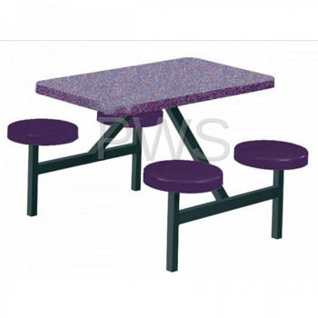 Sol-O-Matic - Sol-O-Matic STF- 2444 Fiberglass Indoor & Outdoor Seat-Table Units