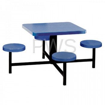 Sol-O-Matic - Sol-O-Matic STF-3030 Fiberglass Indoor & Outdoor Seat-Table Units