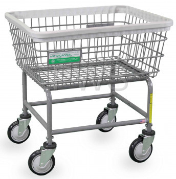 R&B Wire Products - R&B Wire #100E/ANTI Antimicrobial Laundry Cart