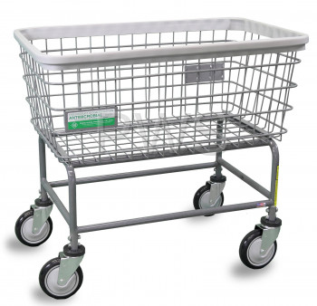 R&B Wire Products - R&B Wire #200F/ANTI R&B Wire #200F/ANTI Antimicrobial Large Capacity Laundry Cart