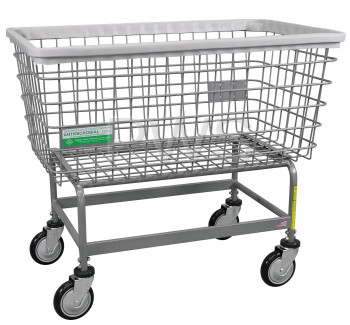 R&B Wire Products - R&B Wire #201H/ANTI R&B Wire #201H/ANTI Antimicrobial Mega Capacity BIG DOG Laundry Cart
