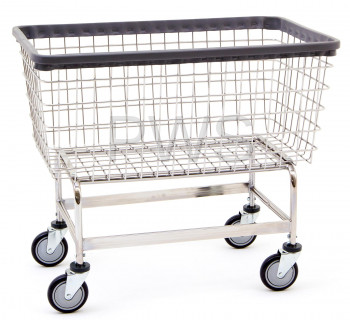 "R&B Wire Products - R&B Wire #201H Mega Capacity ""Big Dog"" Laundry Cart"