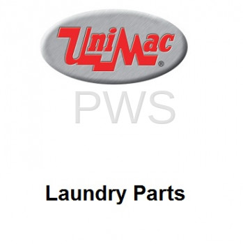 Unimac Parts - Unimac #70114502 Dryer OVERLAY SQ UM RT TEXT (PUNCH)