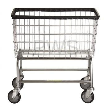Laundry Cart Old Fashioned Rolling Basket With Wheels