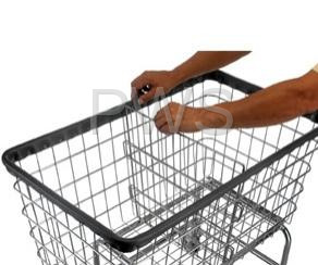 R&B Wire Products - Adjustable & Removable Divider for F Basket