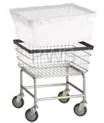 R&B Wire Products - R&B Wire 240 Clear Vinyl Basket Liner for F Basket - Not Flame Retardant