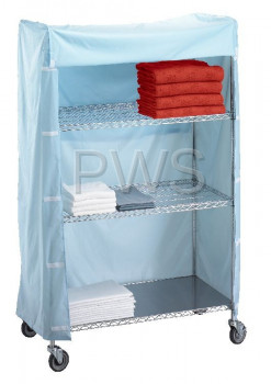 R&B Wire Products - R&B Wire 184872C Linen Cart Nylon Cover 18x48x72