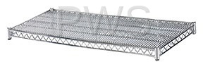 R&B Wire Products - R&B Wire SH1848 18x48 Chrome Plated Wire Shelf