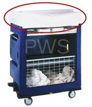 R&B Wire Products - R&B Wire 852 White Vinyl Cover for 760 Turnabout Truck