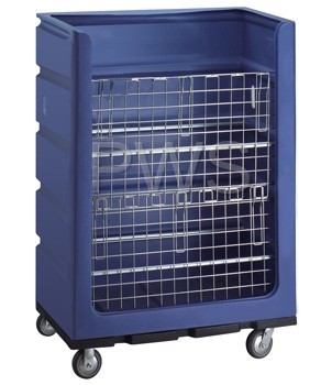 """R&B Wire Products - R&B Wire 748 48 Cu. Ft. Turnabout Truck (48"""" x 29"""" x 68"""")"""