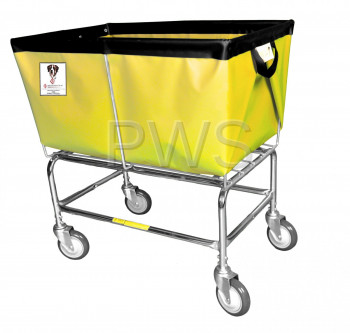 R&B Wire Products - R&B Wire 463 3 Bushel Elevated Truck with Sewn-On Vinyl/Nylon Liners