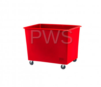 R&B Wire Products - R&B Wire 4612BL 12 Bushel Economy Poly Truck
