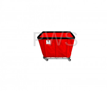 R&B Wire Products - R&B Wire 406SO 6 Bushel Permanent Liner Basket Truck